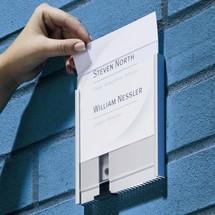 Insteekkaarten voor deurplaatje DURABLE Info Sign