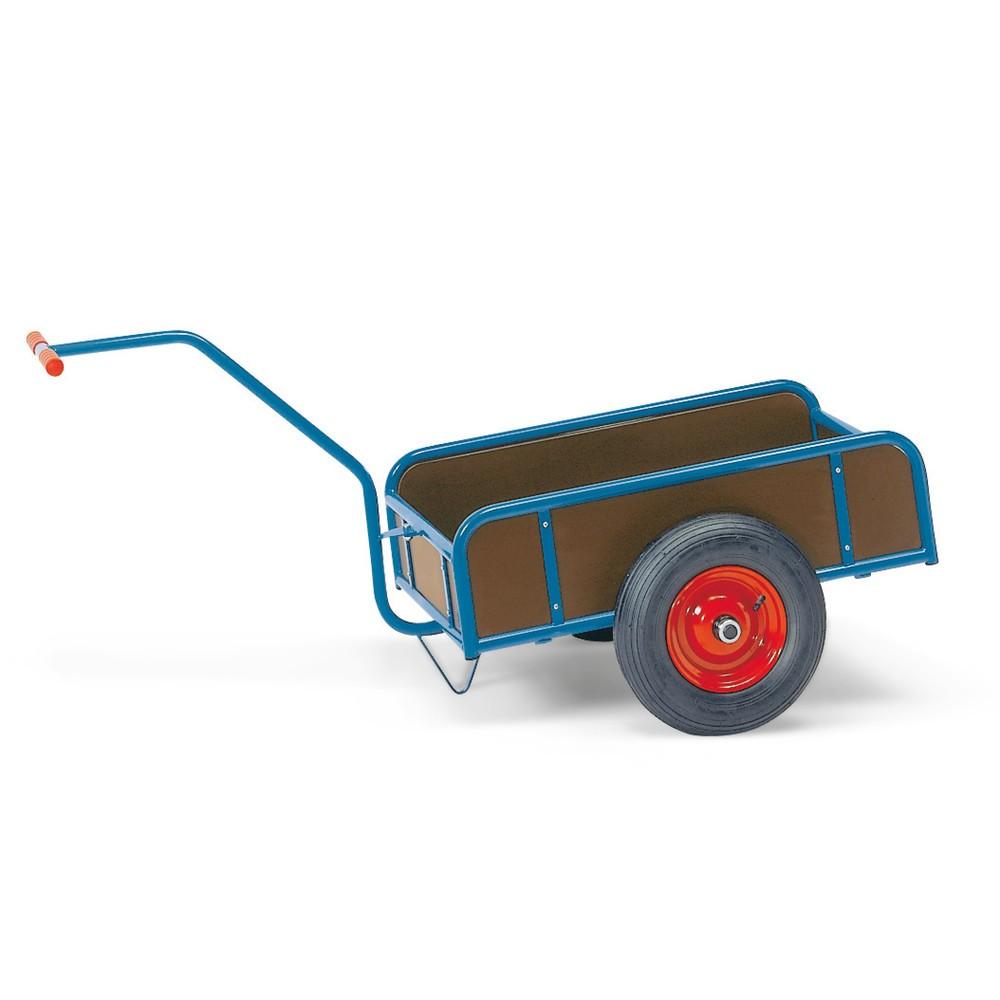 1-nápravový ruční vozík fetra®, uzavřené stěny