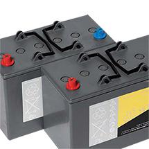 2 x Batterie 12V-85Ah für Aufsitz-Kehrmaschine FLOORTEC R 360
