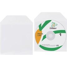 3L® CD DVD-Taschen mit Stecklaschenverschluss