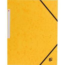 5 Star Eckspannmappen 355 g m² mit Einschlagklappen