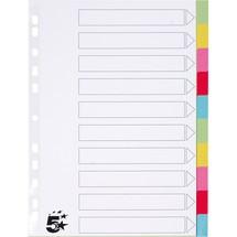5 Star Kartonregister blanko