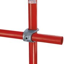 90°-klemverbinding voor het buisverbindingssysteem Kee Klamp®