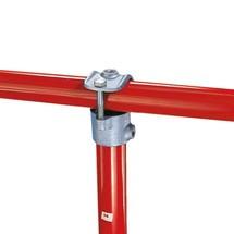 90°-opsteekverbinding voor het buisverbindingssysteem Kee Klamp®