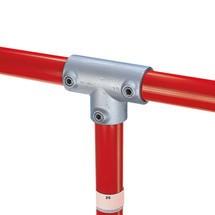 90°-T-verbinding voor het buisverbindingssysteem Kee Klamp®