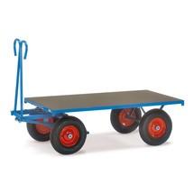 Aanhangwagen fetra® met enkel legblad. Capaciteit tot 1250 kg