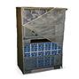 Abdeckhaube für 2 Gitterboxen übereinander