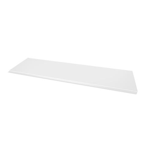 Abdeckplatte für Schiebetüren-Aufsatzschrank, verzinkt