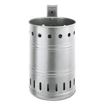 Abfallbehälter RUND, Farbe, 20 l, mit runden Öffnungen