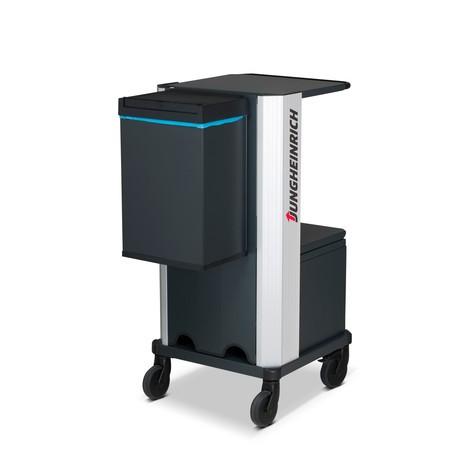 Abfallbox für mobilen Arbeitsplatz Jungheinrich