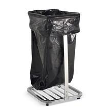 Abfallsackhalter BASIC, 4 Lenkrollen, 4 Standfüße, offen