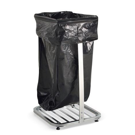 Abfallsackhalter BASIC, 4 Lenkrollen + 4 Standfüße, offen