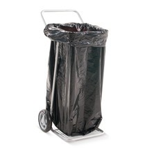 Abfallsackhalter BASIC, 60/120 Liter, 4 Lenkrollen, offen