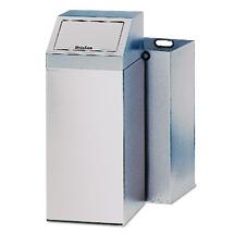 Abfallsammler EDELSTAHL, HxBxT 790x320x320mm