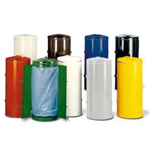 Abfallsammler, ØxH 500x980mm, div. Farben