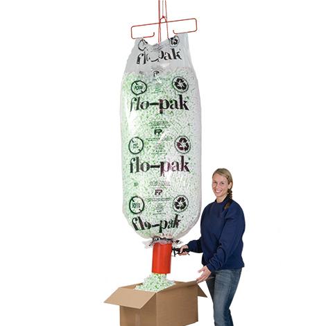 Abfülltrichter-Vorrichtungsset für Füllmaterial Flo-Pak