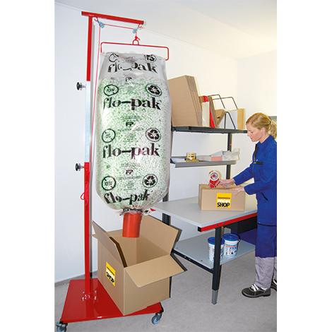 Abfüllwagen für Füllmaterial Flo-Pak