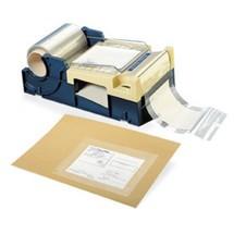 Abrollgerät für Adressen-Schutzfilm, Rollenbreite 130 und 150 mm, mit Messer