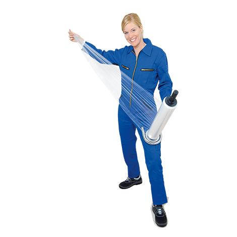 Abrollgerät für Stretchfolie