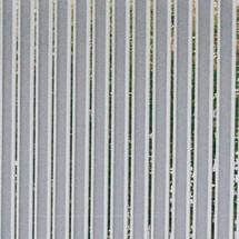 Achterwand, metaalplaten, voor overkapping met plat dak, eenzijdig