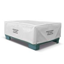 Afdekhoes van vrachtwagen-afdekzeil voor gitterbox