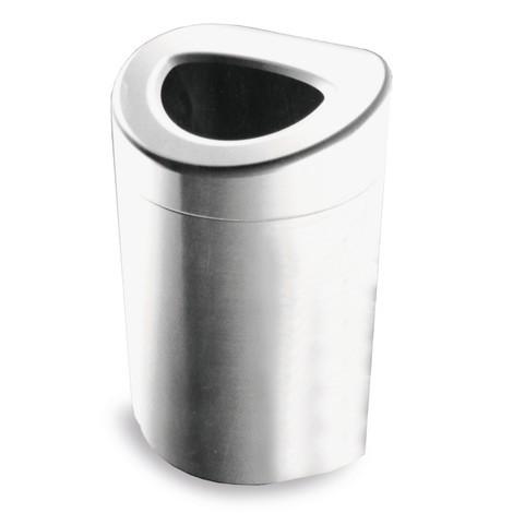 affaldsbeholder, 170 liter, åben