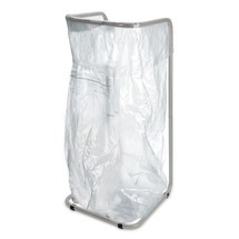 Affaldssorteringsbeholder 400 liter, af pulverlakeret stål