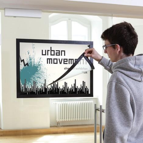 Affisch-magnetram DURAFRAME®, självhäftande