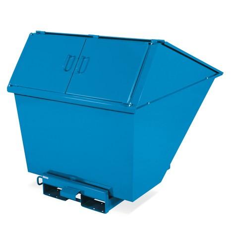 Afvalcontainer met kantelfunctie