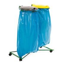Afvalzakstandaard dubbele verzamelaar