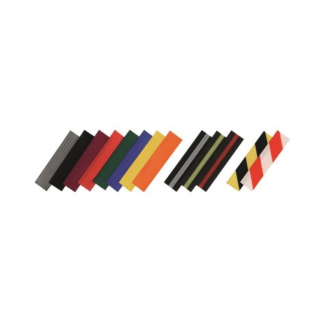 Afzetpaal met lint RS-GUIDESYSTEMS®, roestvrij staal, lintbreedte 50 mm