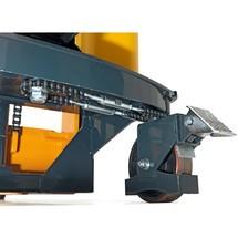 Akumulatorowe podnośnikowe wózki widłowe Jungheinrich HC 110. Wys. podn. od 1600 do 3000 mm. Udźwig 1000 kg.