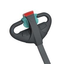 Akumulatorowe podnośnikowe wózki widłowe Jungheinrich z dyszlem, typ EJC M10 E. Wys. podn. 1540 lub 1900 mm. Udźwig 1000 kg.