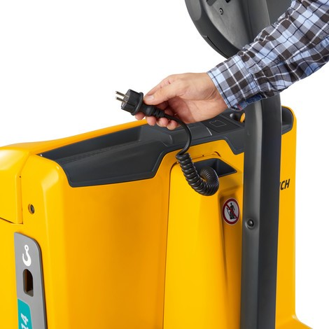 Akumulatorowy wózek paletowy Jungheinrich EJE 114/116/118/120
