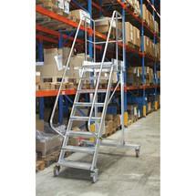 Altrex® Platformtrap 45° (verrijdbaar), 4 wielen