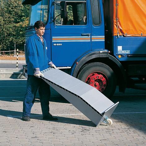 Alu-Auffahrkeile, Tragkraft 12.000 kg/Paar