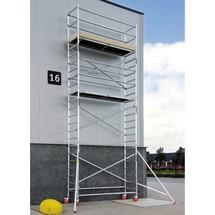 Alu-Fahrgerüst altrex Professional, Plattform 0,75 x 2,45 m