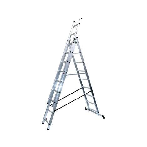 Alu-Schiebeleiter BASIC 3-in-1