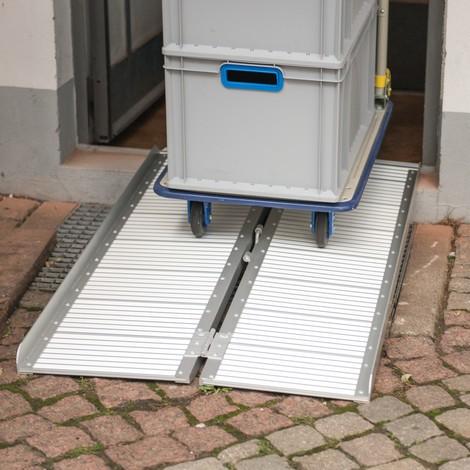 Aluminiowa rampa składana