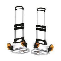 Aluminiowy wózek do układania w stos, 2 sztuki
