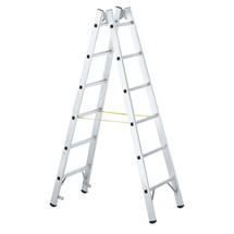 Aluminium ladder ZARGES, kan 2-zijdig worden beklommen