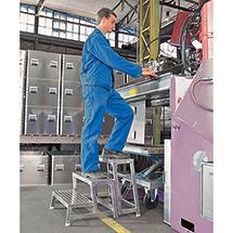 Aluminium-Modul-Arbeitspodest. Grundmodul