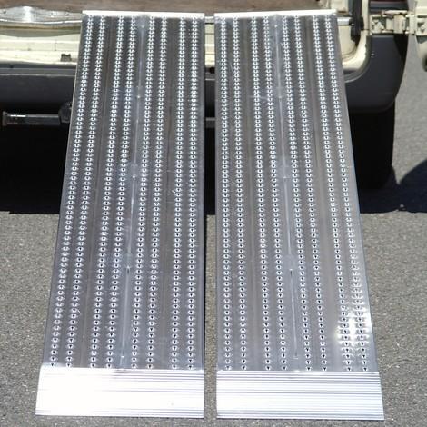 Aluminium oprijplaat, slipvast