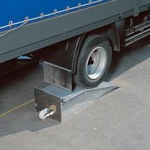 Aluminium oprijwig, capaciteit 12.000 kg/paar