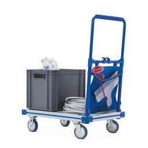 Aluminium plateauwagen, volledig inklapbaar