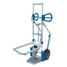 Aluminium stoelensteekwagen Expresso. Capaciteit 300 kg