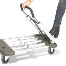 Aluminum transportwagen Premium