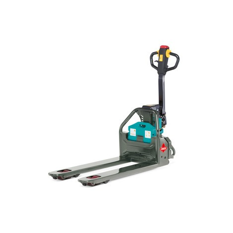 Ameise® electric pallet truck - lithium-ion, special distance across forks 685 mm, capacity 1200 kg