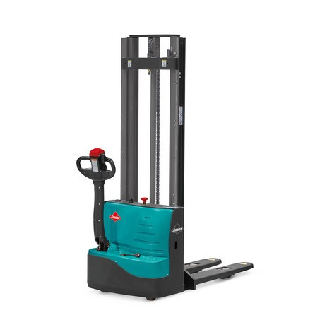 Ameise® electric stacker truck – two-stage telescopic mast