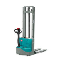 Ameise® PSE 1.0 electric stacker truck with two-stage telescopic mast